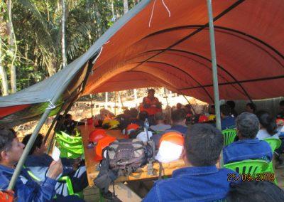 Capacitación al personal - Obra. Construcción y ejecución de las obras civiles en la planta electrica, distrito de punchana, maynas, loreto(2)