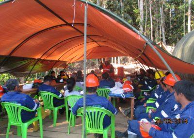 Capacitación al personal - Obra. Construcción y ejecución de las obras civiles en la planta electrica, distrito de punchana, maynas, loreto(3)