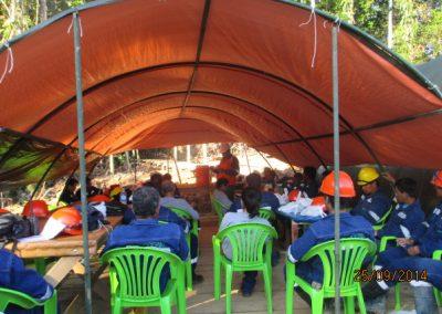 Capacitación al personal - Obra. Construcción y ejecución de las obras civiles en la planta electrica, distrito de punchana, maynas, loreto(4)
