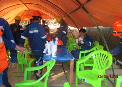 Capacitación al personal - Obra. Construcción y ejecución de las obras civiles en la planta electrica, distrito de punchana, maynas, loreto(5)