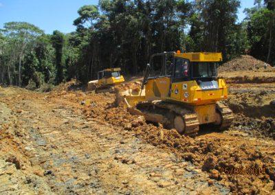 Corte y nivelación de terreno - Obra. Construcción y ejecución de las obras civiles en la planta electrica, distrito de punchana, maynas, loreto(1)