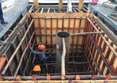 ENCOFRADO - CONSTRUCCIÓN DE CANTINAS DE PERFORACIÓN L2 LOTE 95