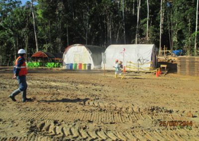 Fumigación de campamento - Obra. Construcción y ejecución de las obras civiles en la planta electrica, distrito de punchana, maynas, loreto(1)