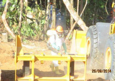 Fumigación de campamento - Obra. Construcción y ejecución de las obras civiles en la planta electrica, distrito de punchana, maynas, loreto(12)