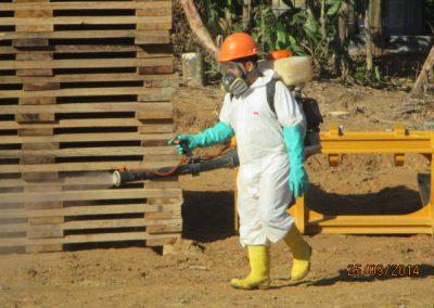 Fumigación de campamento - Obra. Construcción y ejecución de las obras civiles en la planta electrica, distrito de punchana, maynas, loreto(13)