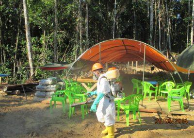 Fumigación de campamento - Obra. Construcción y ejecución de las obras civiles en la planta electrica, distrito de punchana, maynas, loreto(5)
