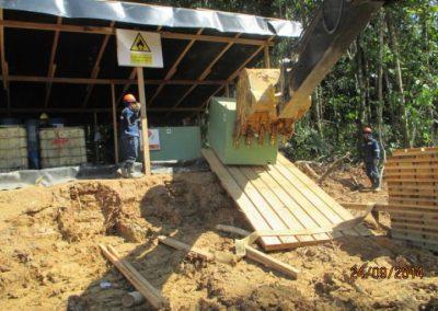 Habilitación de tanques para almacenamiento de combustible - Obra. Construcción y ejecución de las obras civiles en la planta electrica, distrito de punchana, maynas, lore