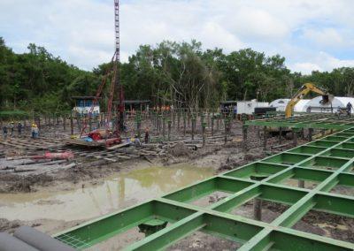 Instalación de módulos,Construcción de plataforma - Lote 95 locación 4, Bretaña(1)