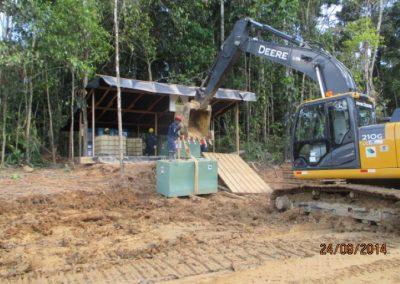 Montaje de tanques para almacenamiento de combustible