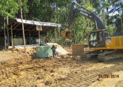 Montaje de tanques para almacenamiento de combustible - Obra. Construcción y ejecución de las obras civiles en la planta electrica, distrito de punchana, maynas, loreto (2)
