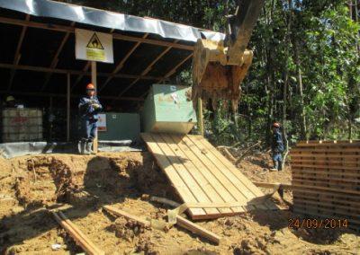 Montaje de tanques para almacenamiento de combustible - Obra. Construcción y ejecución de las obras civiles en la planta electrica, distrito de punchana, maynas, loreto (3)