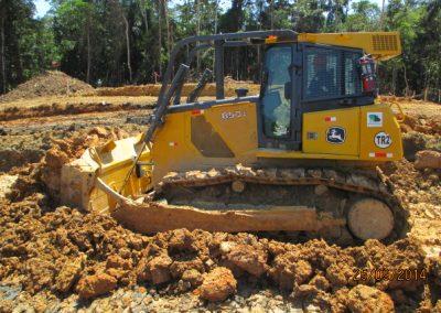 Novelación de terreno - Obra. Construcción y ejecución de las obras civiles en la planta electrica, distrito de punchana, maynas, loreto